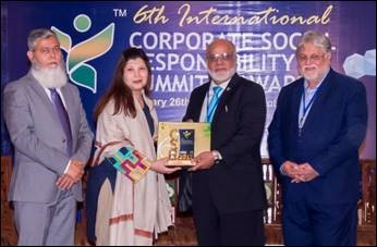 KE wins 6th CSR Award 2017